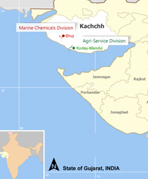 Kachchh Map